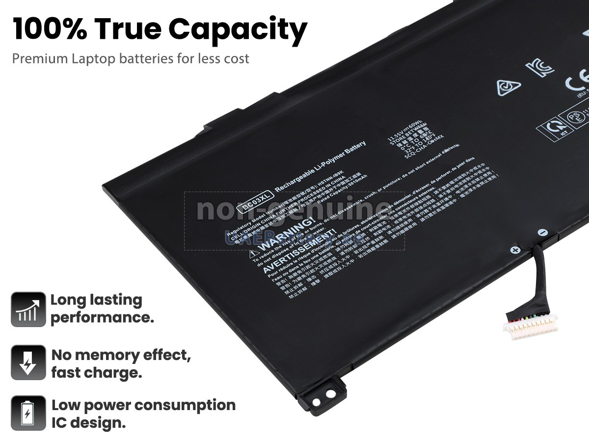 Hp Bc03xl Replacement Battery Uaebattery